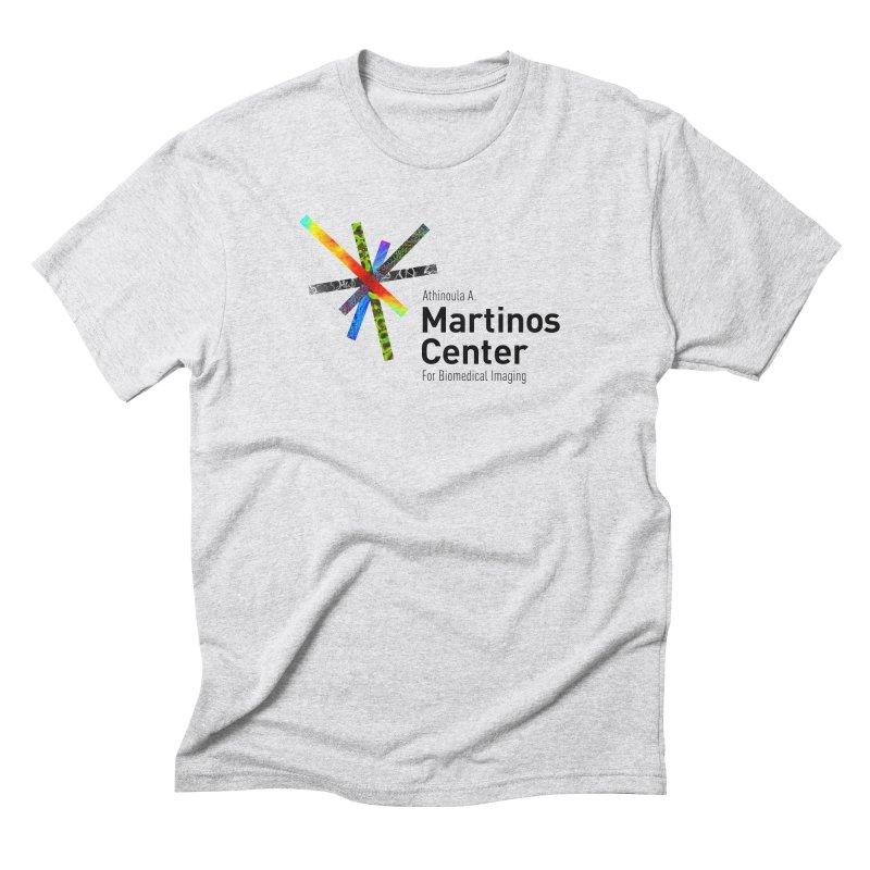 Martinos Center Logo (Black Text) Men's Triblend T-Shirt by martinos's Artist Shop