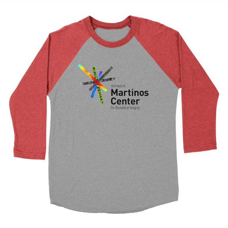 Martinos Center Logo (Black Text) Women's Baseball Triblend T-Shirt by martinos's Artist Shop