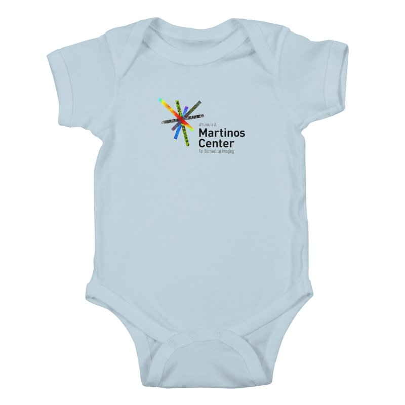 Martinos Center Logo (Black Text) Kids Baby Bodysuit by martinos's Artist Shop