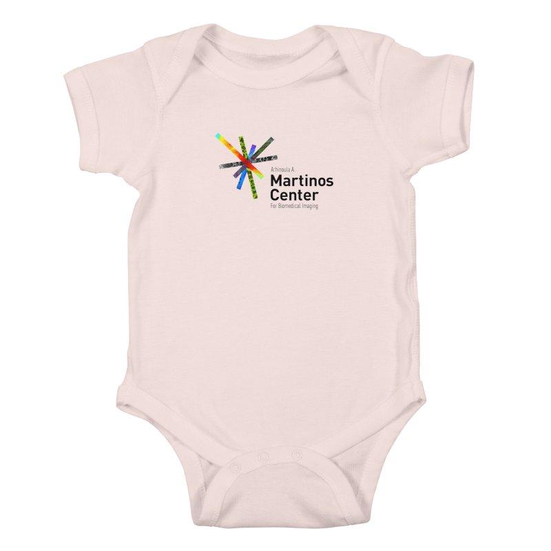 Martinos Center Logo (Black Text) Kids Baby Bodysuit by martinos's Artist Shop