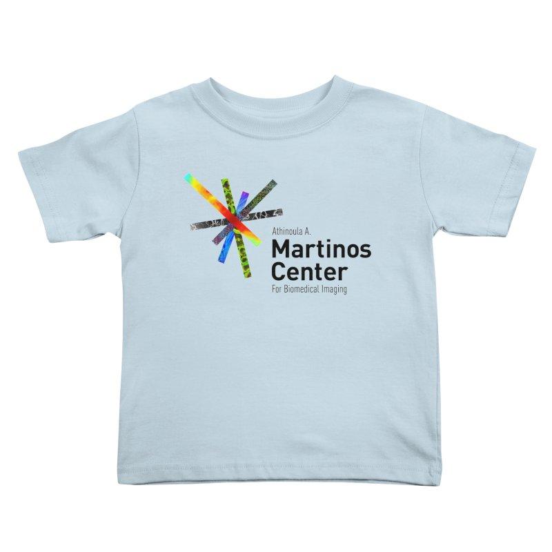 Martinos Center Logo (Black Text) Kids Toddler T-Shirt by martinos's Artist Shop