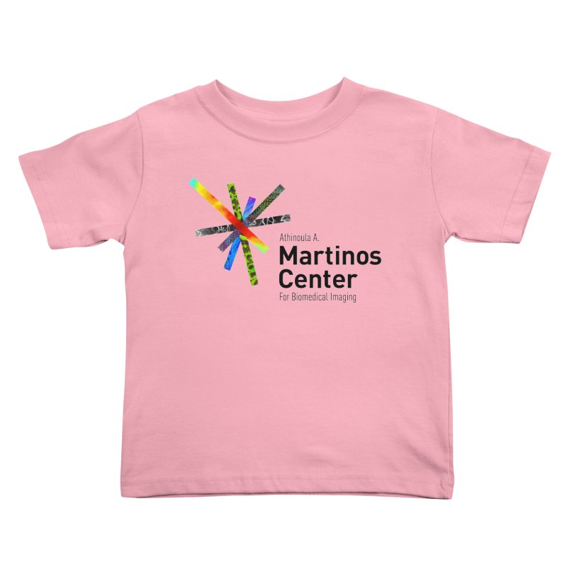 Martinos Center Logo (Black Text) Kids Toddler T-Shirt by martinos's Artist Shop
