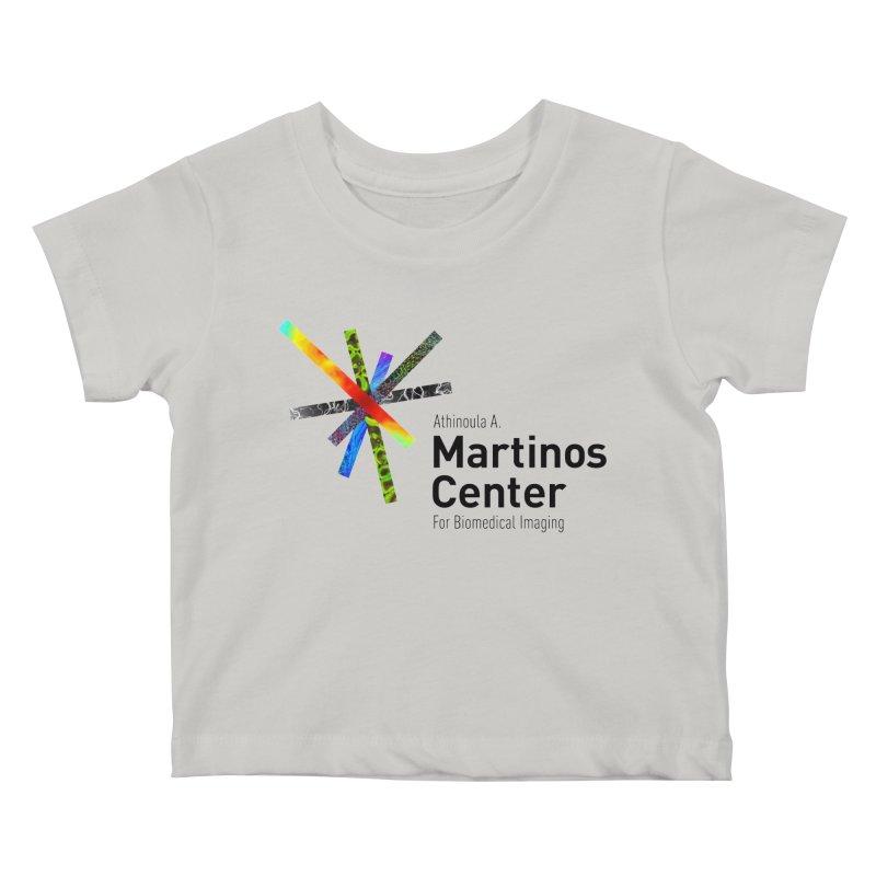 Martinos Center Logo (Black Text) Kids Baby T-Shirt by martinos's Artist Shop