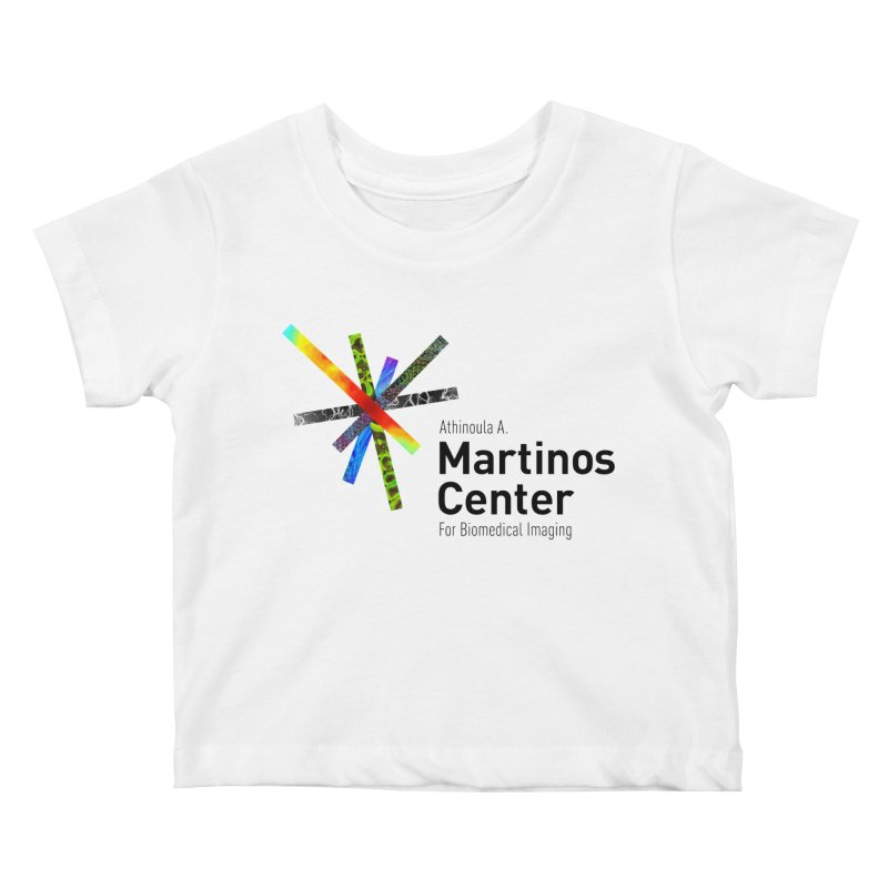 Martinos Center Logo (Black Text) Kids Baby T-Shirt by martinos's Artist Shop