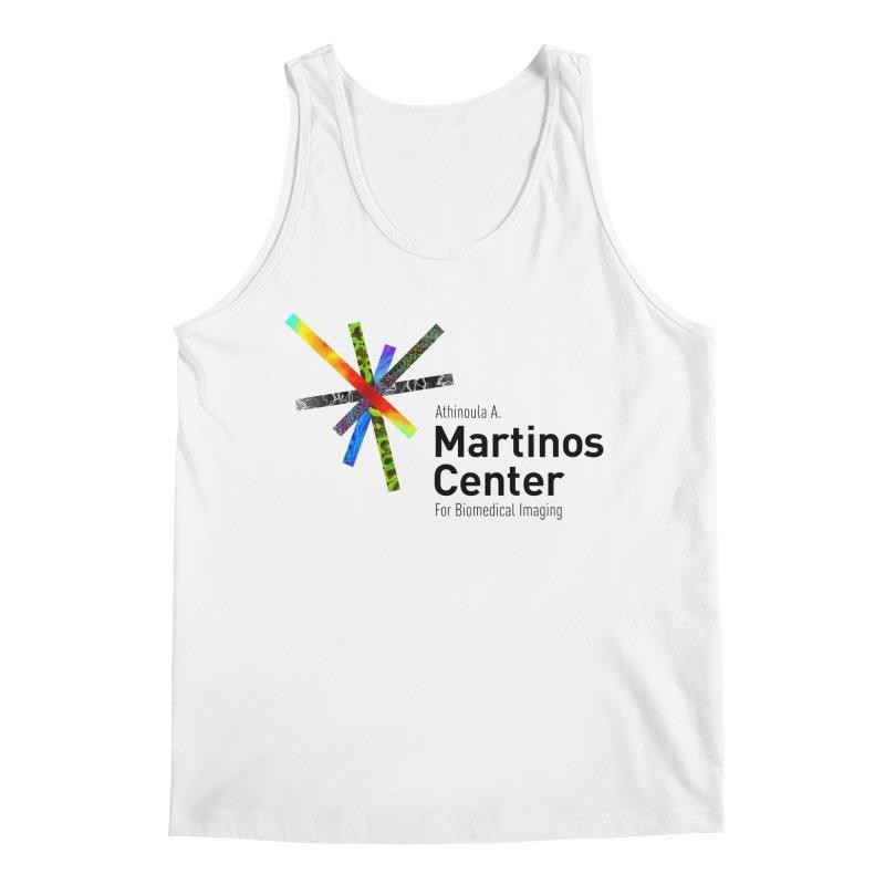 Martinos Center Logo (Black Text) Men's Tank by martinos's Artist Shop
