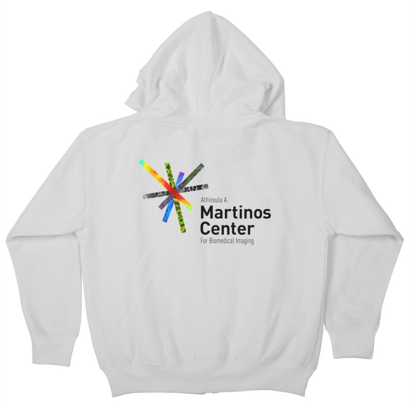 Martinos Center Logo (Black Text) Kids Zip-Up Hoody by martinos's Artist Shop