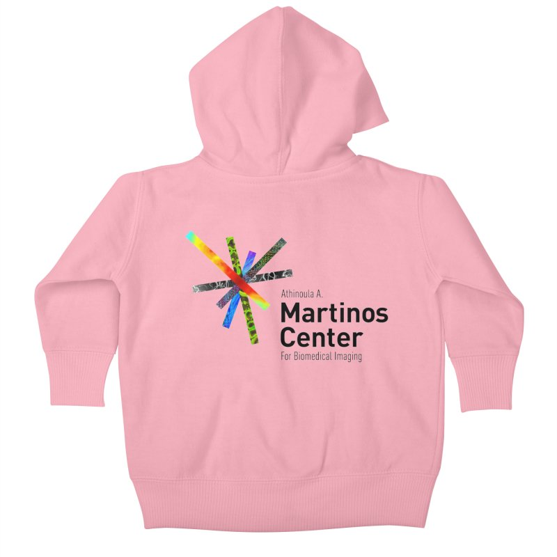 Martinos Center Logo (Black Text) Kids Baby Zip-Up Hoody by martinos's Artist Shop