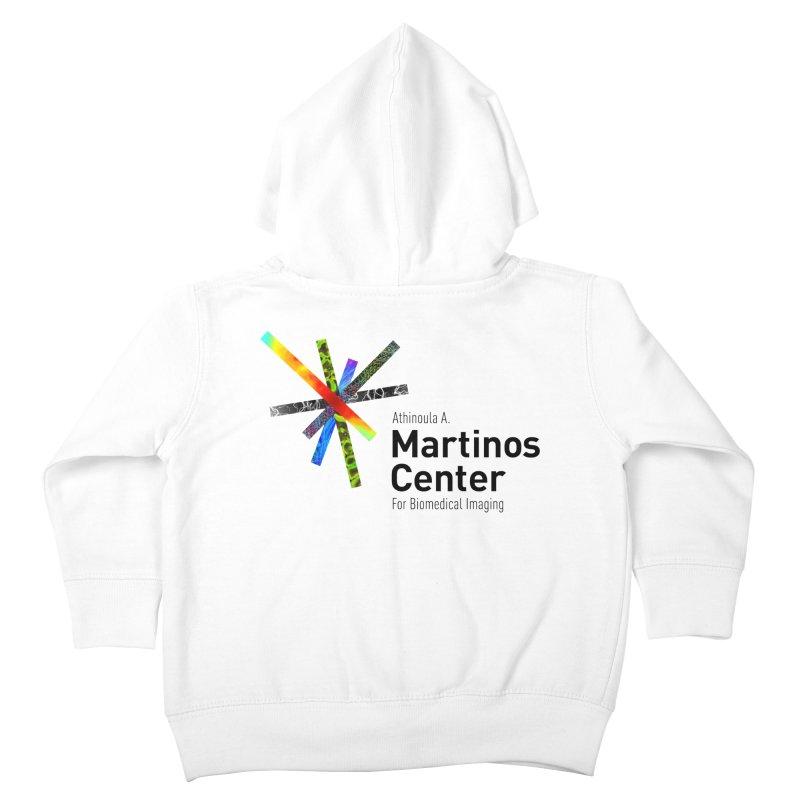 Martinos Center Logo (Black Text) Kids Toddler Zip-Up Hoody by martinos's Artist Shop