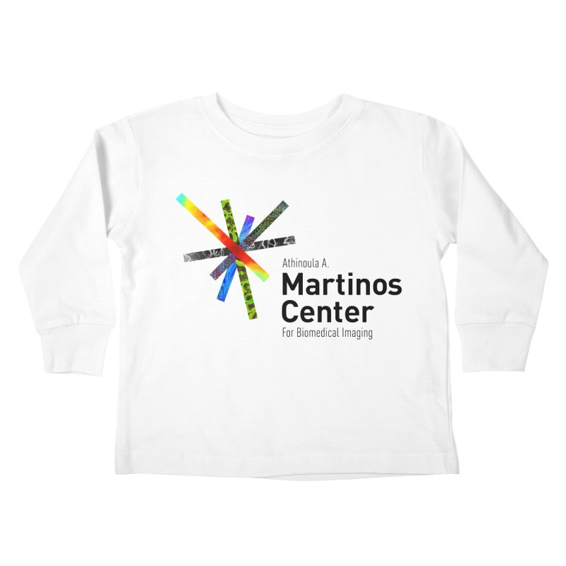 Martinos Center Logo (Black Text) Kids Toddler Longsleeve T-Shirt by martinos's Artist Shop