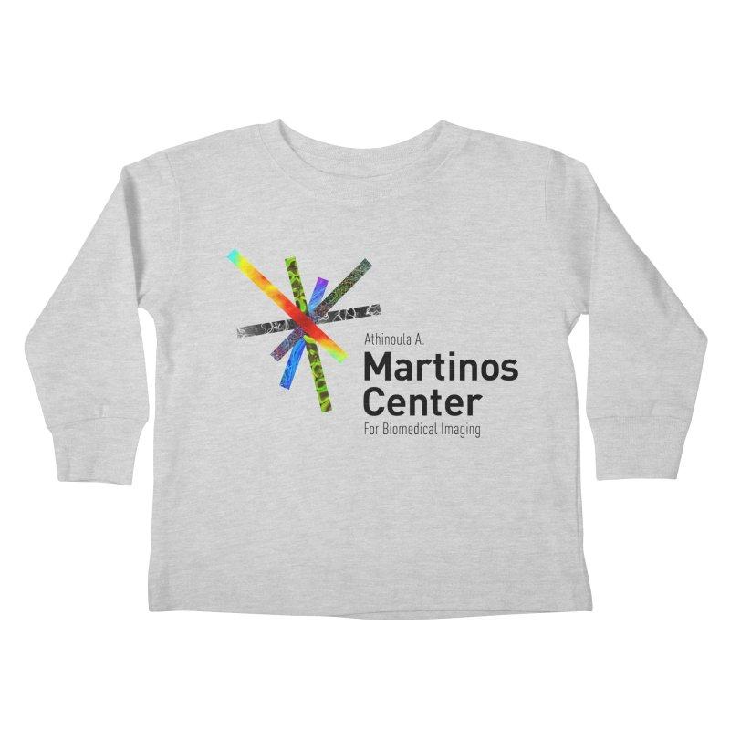 Martinos Center Logo (Black Text) Kids Toddler Longsleeve T-Shirt by martinos's Artist Shop