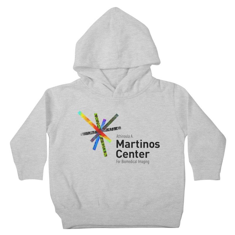 Martinos Center Logo (Black Text) Kids Toddler Pullover Hoody by martinos's Artist Shop