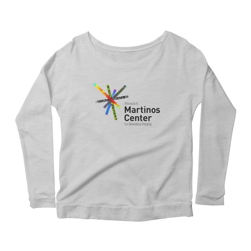 Martinos Center Logo (Black Text) Women's Longsleeve T-Shirt by martinos's Artist Shop