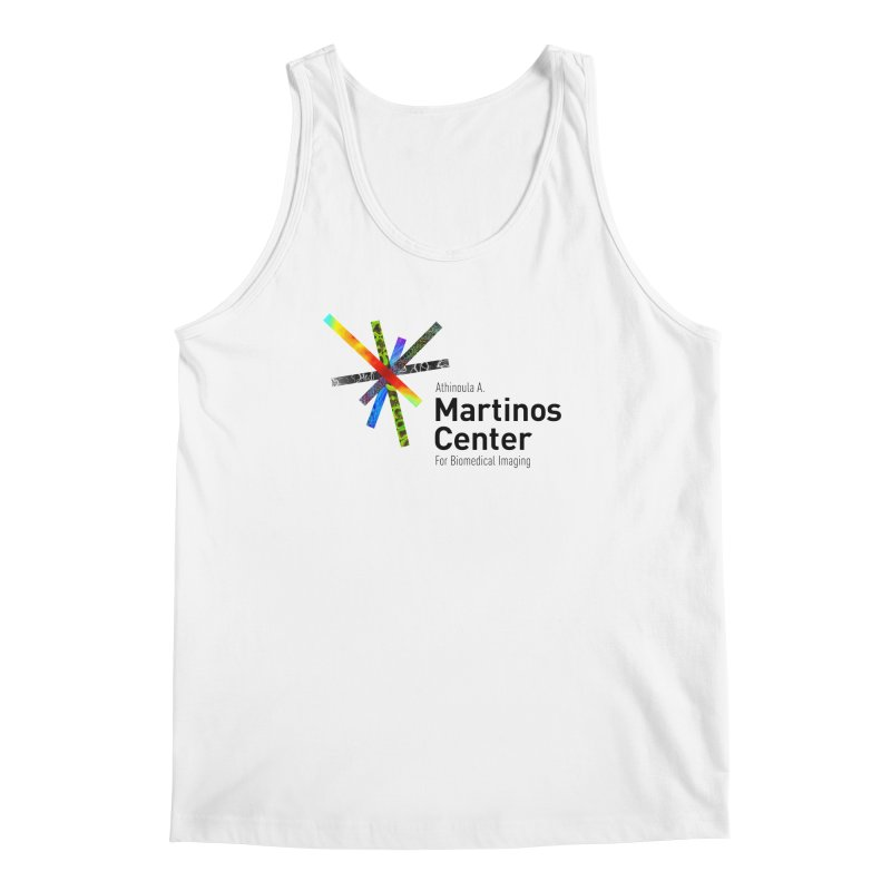Martinos Center Logo (Black Text) Men's Regular Tank by martinos's Artist Shop