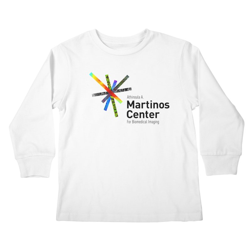 Martinos Center Logo (Black Text) Kids Longsleeve T-Shirt by martinos's Artist Shop
