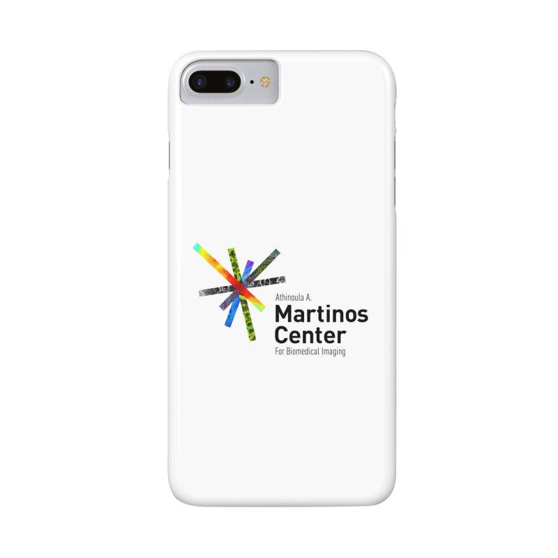 Martinos Center Logo (Black Text) Accessories Phone Case by martinos's Artist Shop