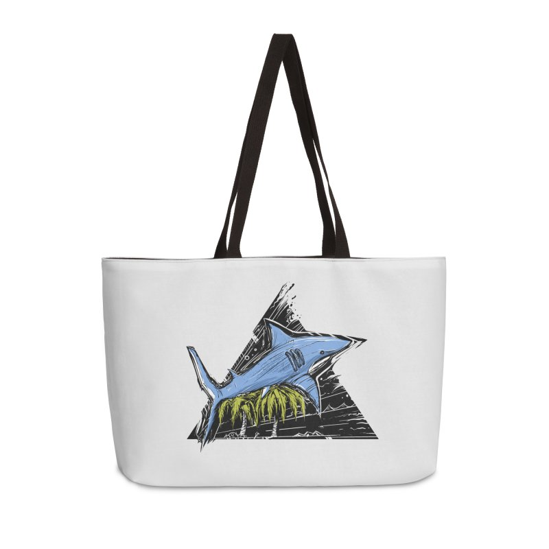 somewhere over the palm trees Accessories Weekender Bag Bag by martinskowsky