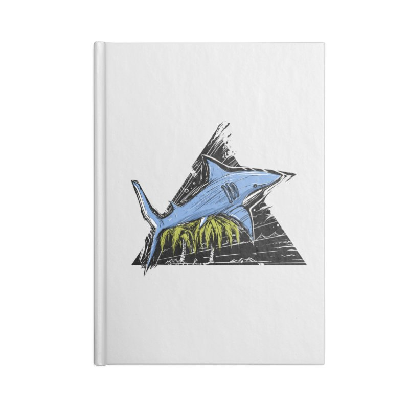 somewhere over the palm trees Accessories Blank Journal Notebook by martinskowsky