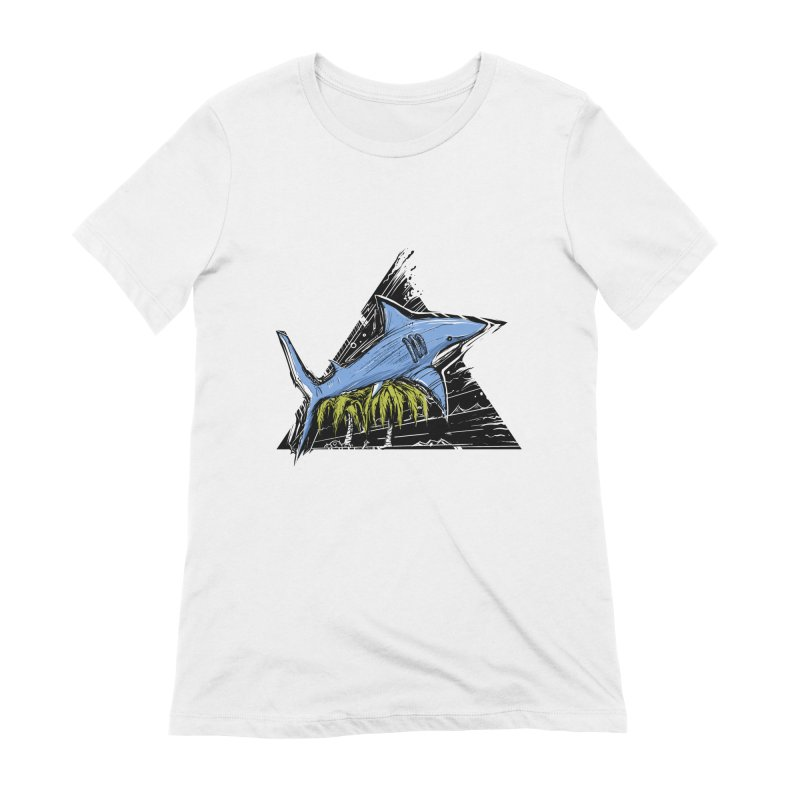 somewhere over the palm trees Women's Extra Soft T-Shirt by martinskowsky