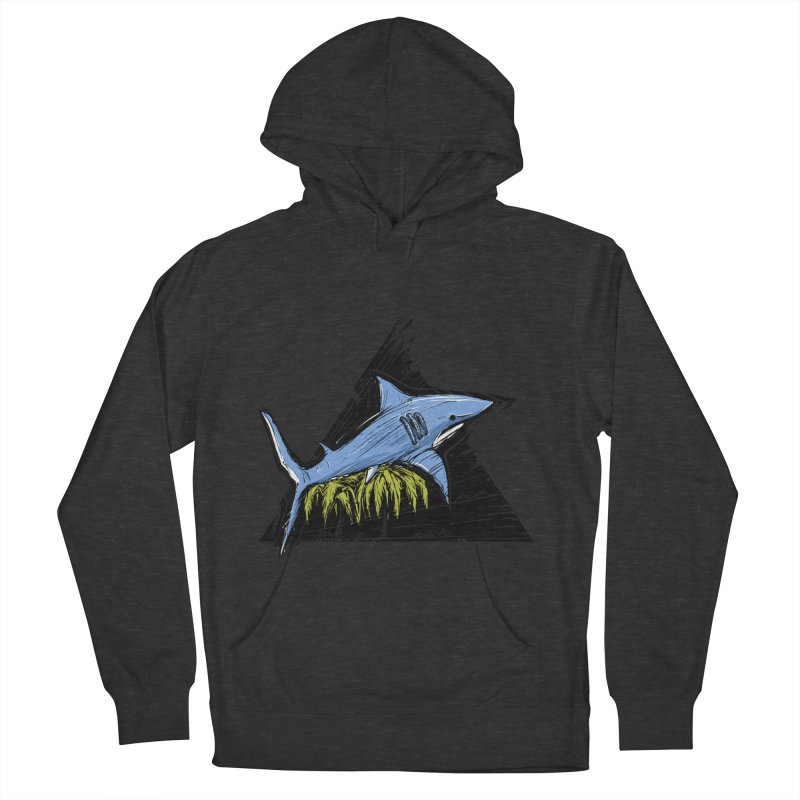 somewhere over the palm trees Women's French Terry Pullover Hoody by martinskowsky