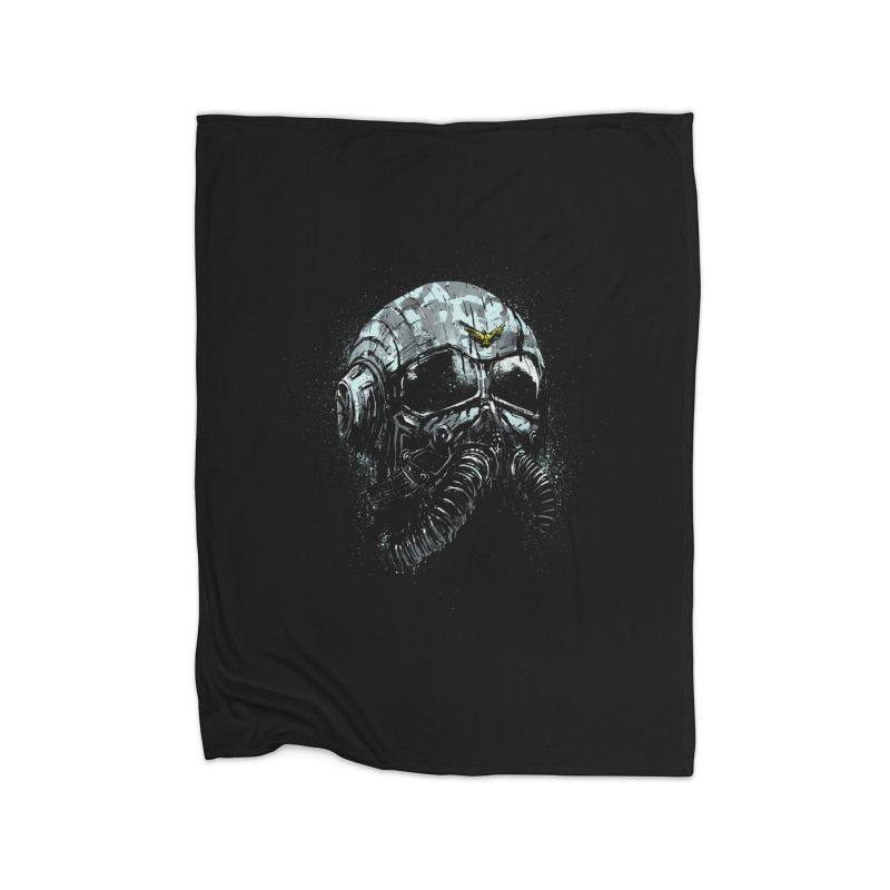 stratofighter Home Fleece Blanket Blanket by martinskowsky