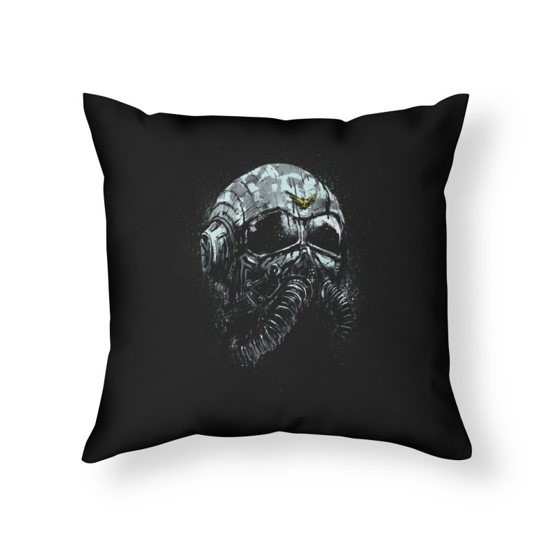 stratofighter Home Throw Pillow by martinskowsky