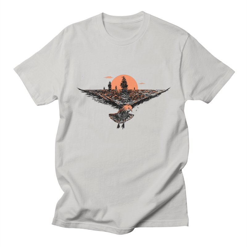 the great voyage Men's T-shirt by martinskowsky