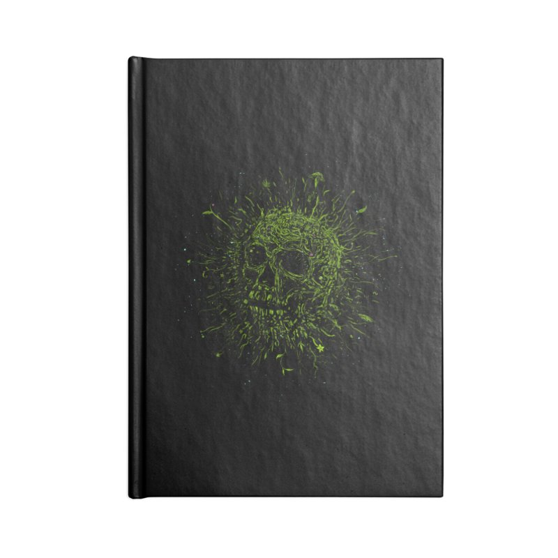 Fusion Accessories Blank Journal Notebook by martinskowsky