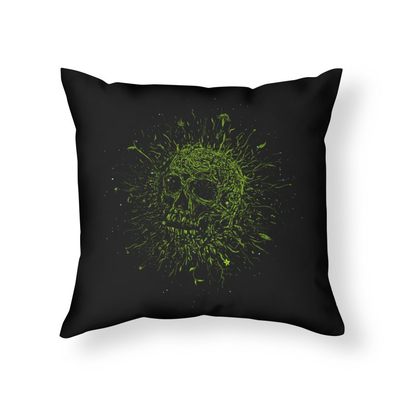 Fusion Home Throw Pillow by martinskowsky