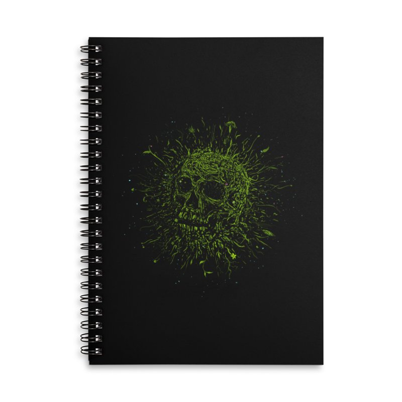 Fusion Accessories Lined Spiral Notebook by martinskowsky