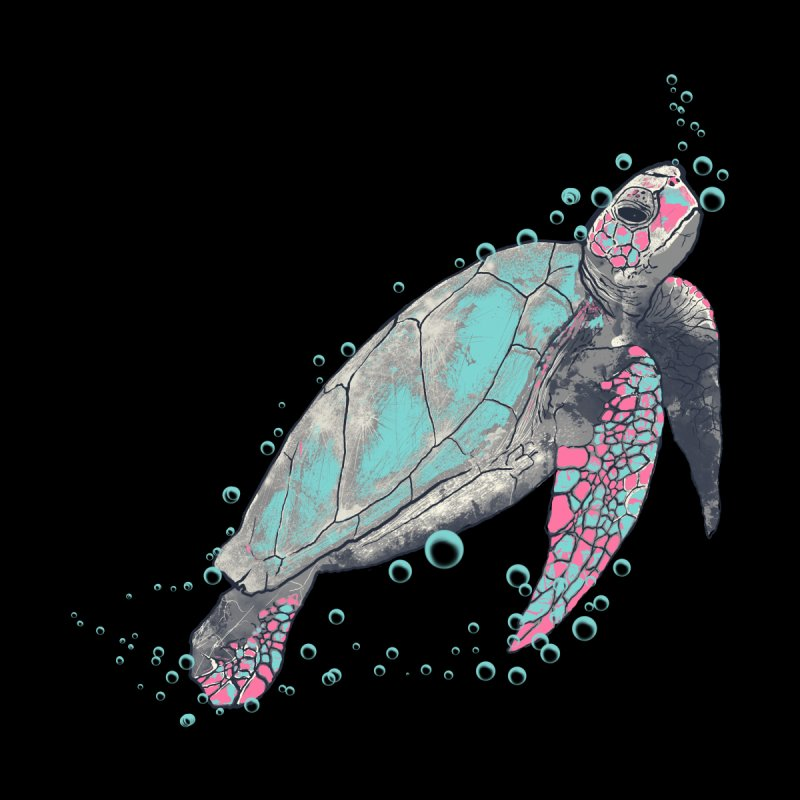 sea turtle Men's T-Shirt by martinskowsky