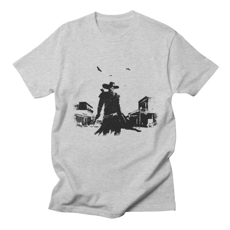 gunslinger Men's T-Shirt by martinskowsky