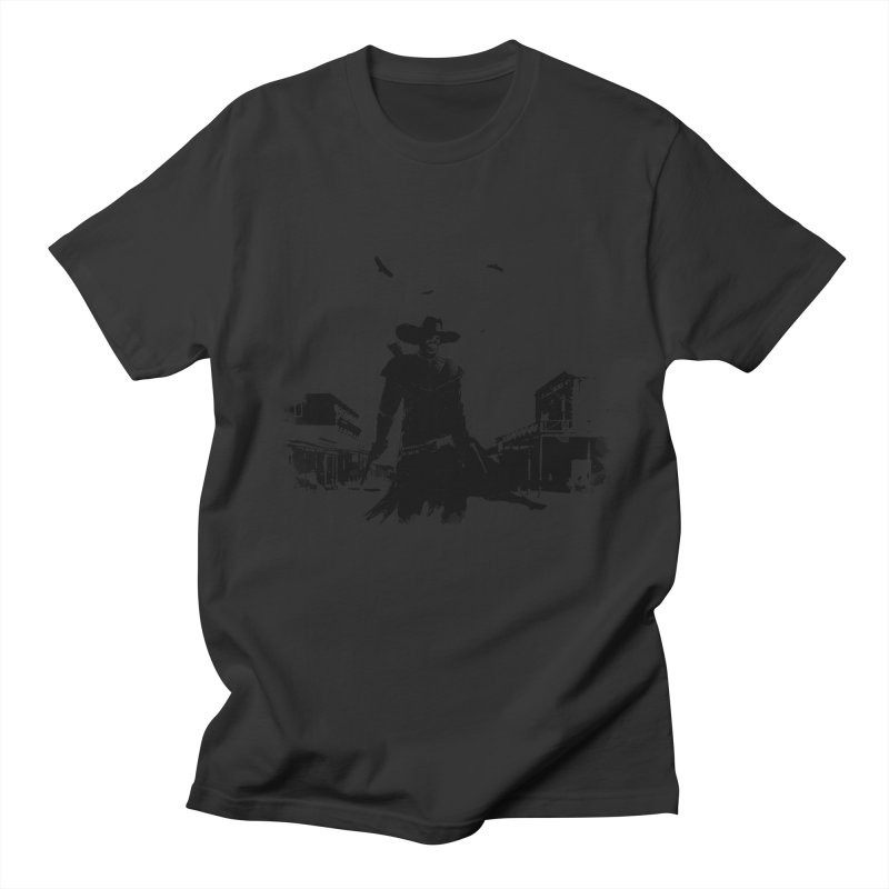 gunslinger Men's T-Shirt by martinskowsky