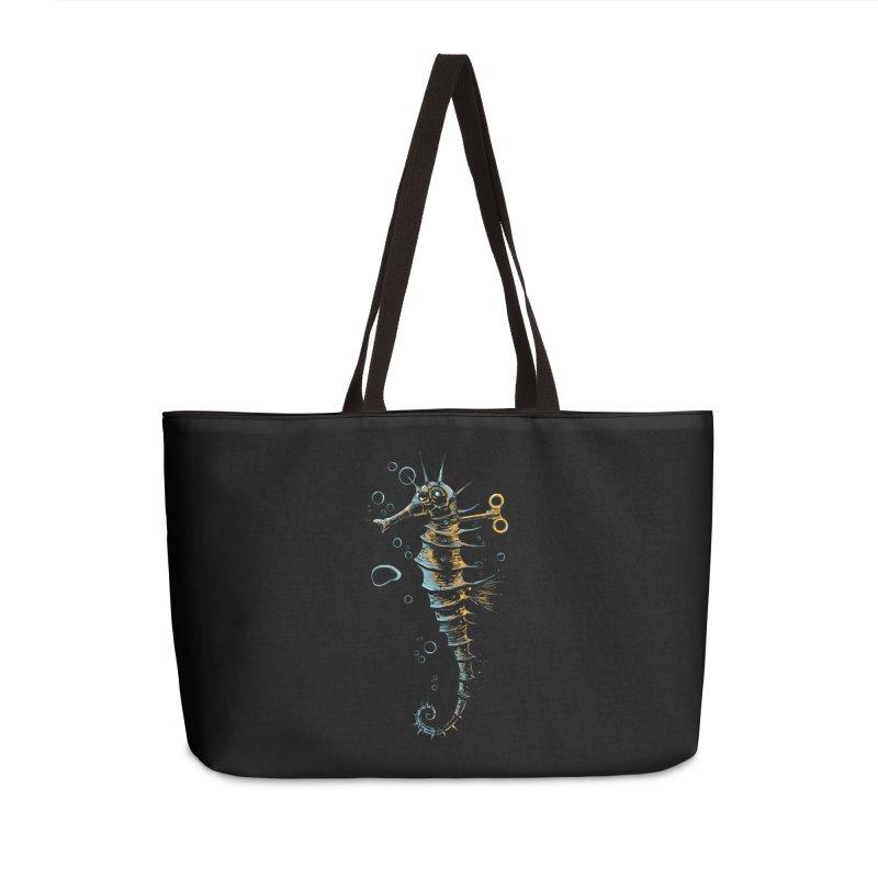 mechanical seahorse Accessories Weekender Bag Bag by martinskowsky