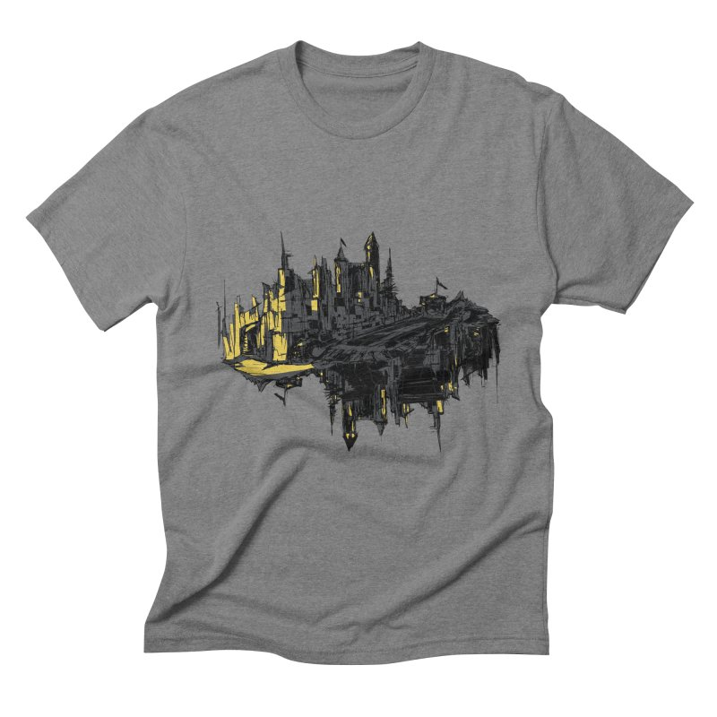 mirror city Men's Triblend T-shirt by martinskowsky