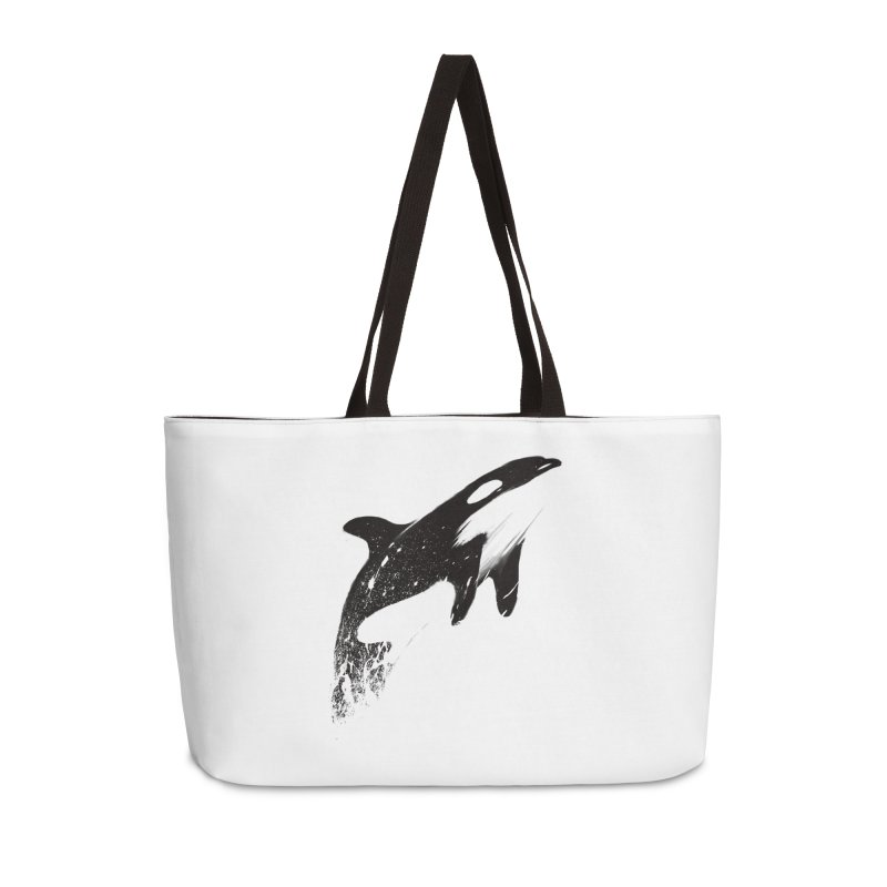 orcas can fly Accessories Weekender Bag Bag by martinskowsky