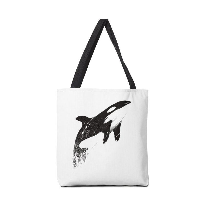orcas can fly Accessories Tote Bag Bag by martinskowsky