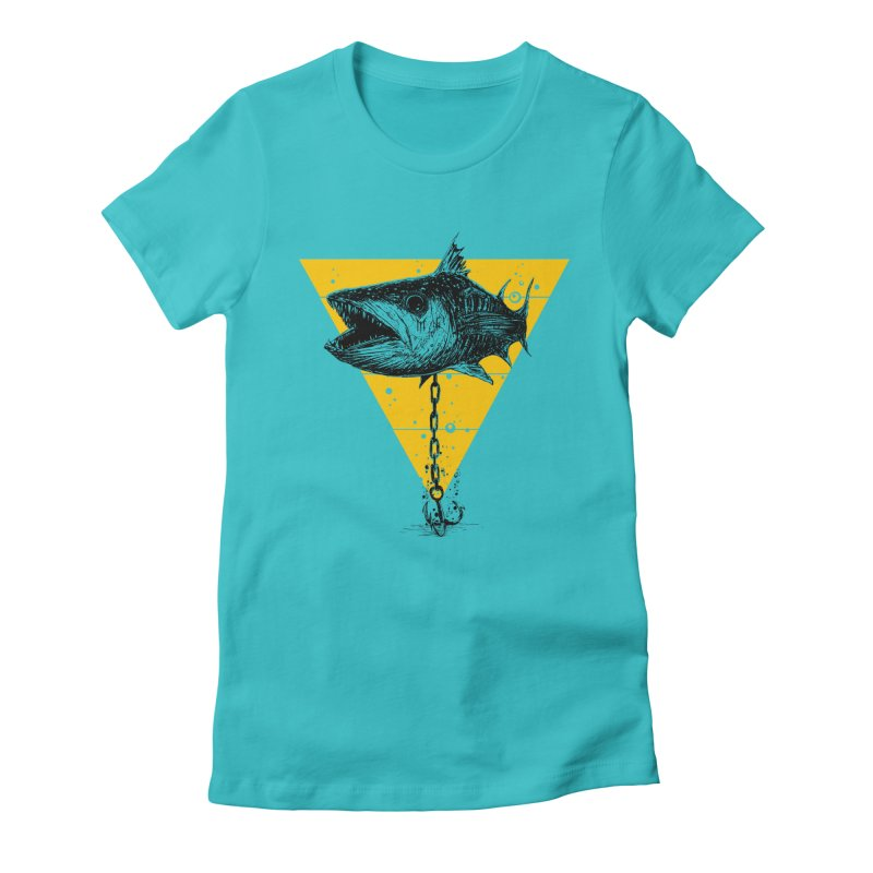 Just Cuda Women's Fitted T-Shirt by martinskowsky