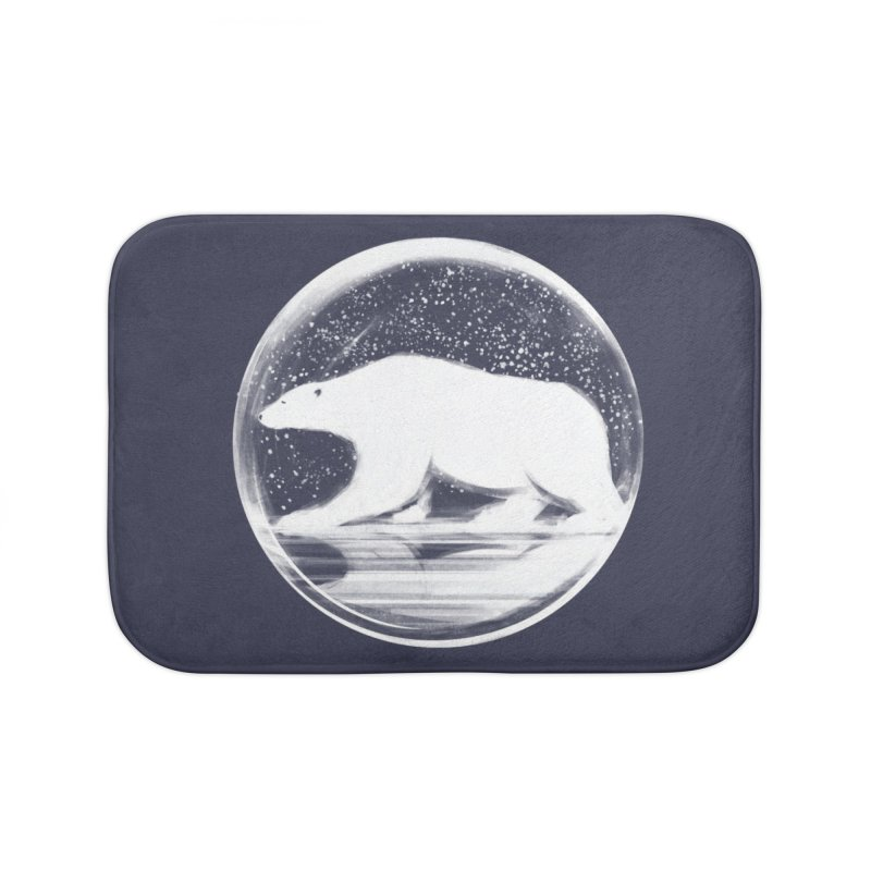 bear in a sphere Home Bath Mat by martinskowsky