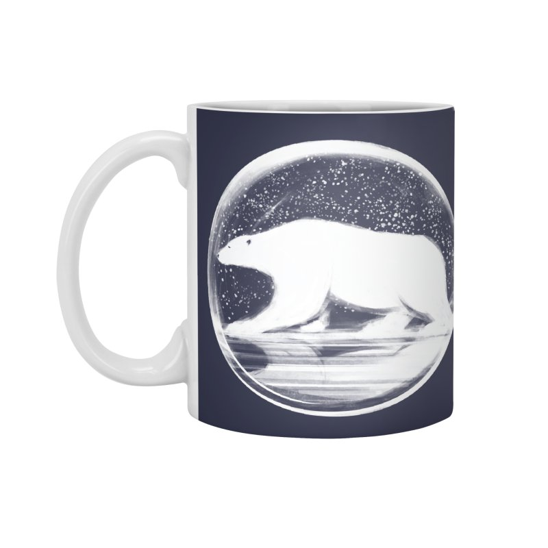 bear in a sphere Accessories Mug by martinskowsky