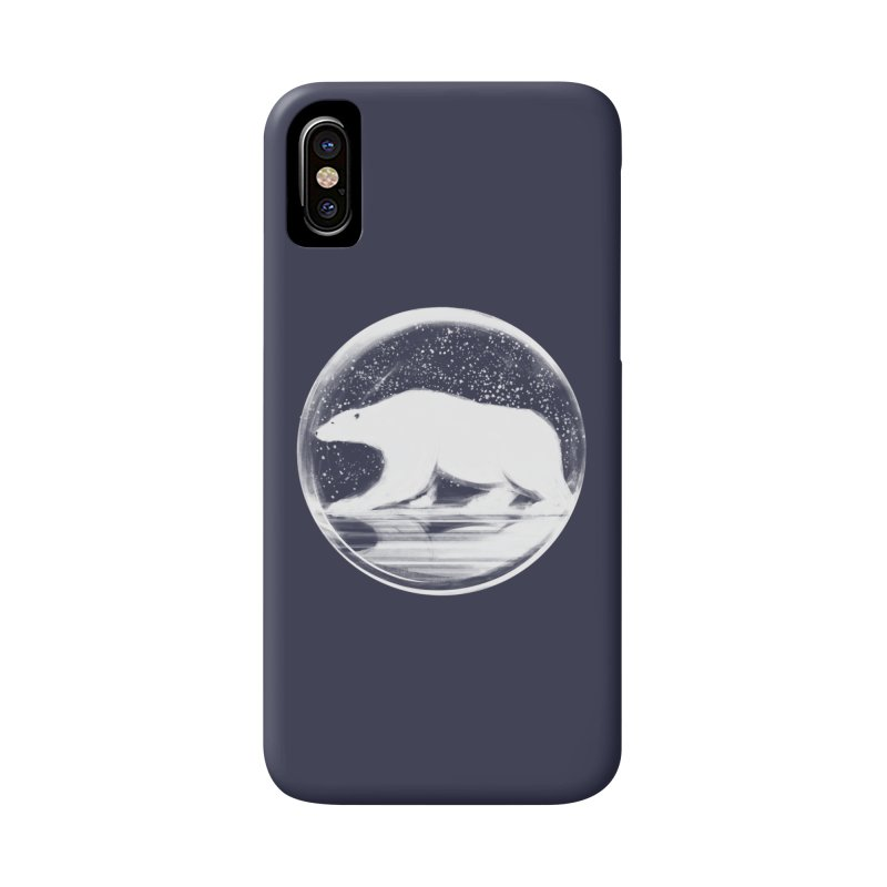 bear in a sphere Accessories Phone Case by martinskowsky