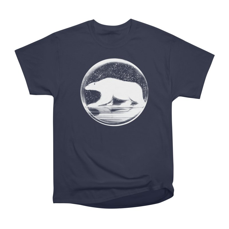 bear in a sphere Men's Classic T-Shirt by martinskowsky