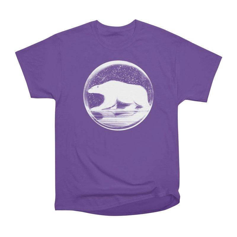bear in a sphere Women's Heavyweight Unisex T-Shirt by martinskowsky