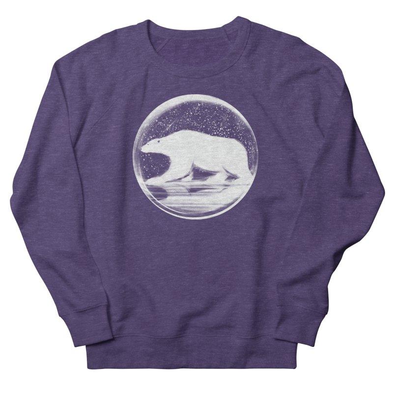 bear in a sphere Women's Sweatshirt by martinskowsky
