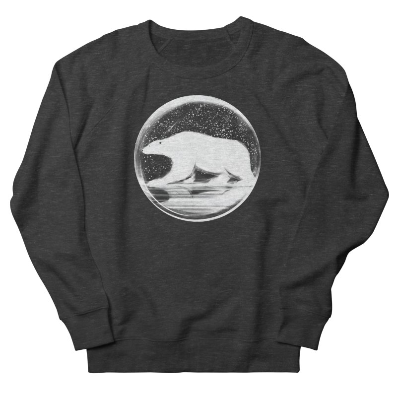 bear in a sphere Men's Sweatshirt by martinskowsky