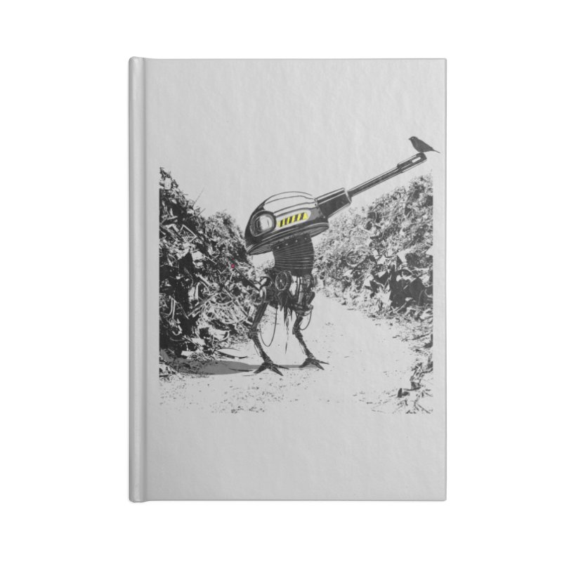 Junkyard friends Accessories Notebook by martinskowsky