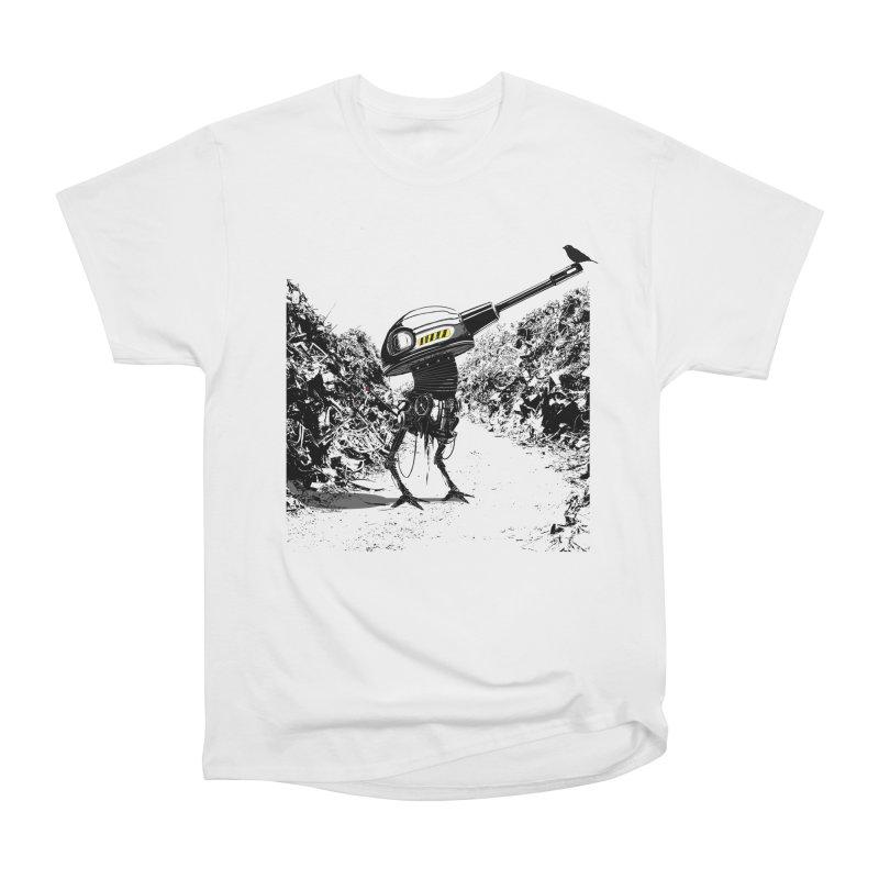 Junkyard friends Women's Heavyweight Unisex T-Shirt by martinskowsky