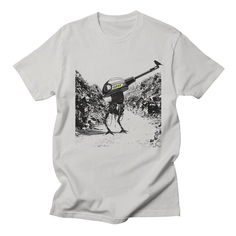 Junkyard friends Men's Regular T-Shirt by martinskowsky