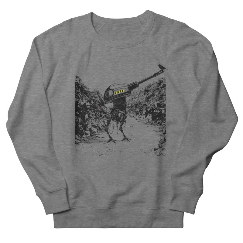 Junkyard friends Men's French Terry Sweatshirt by martinskowsky
