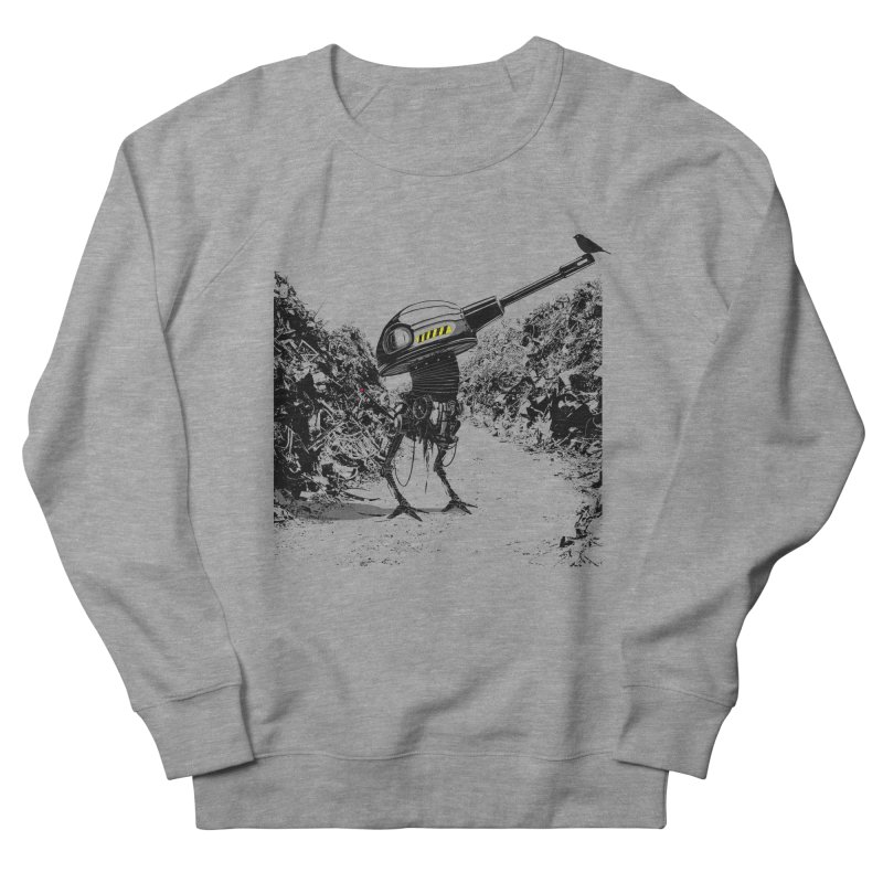 Junkyard friends Men's French Terry Sweatshirt by martinskowsky