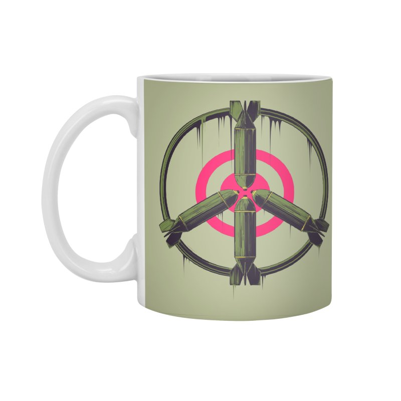 war is peace Accessories Standard Mug by martinskowsky